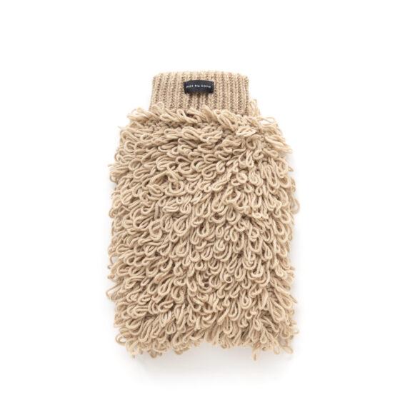 Curly Knit Dog Jumper