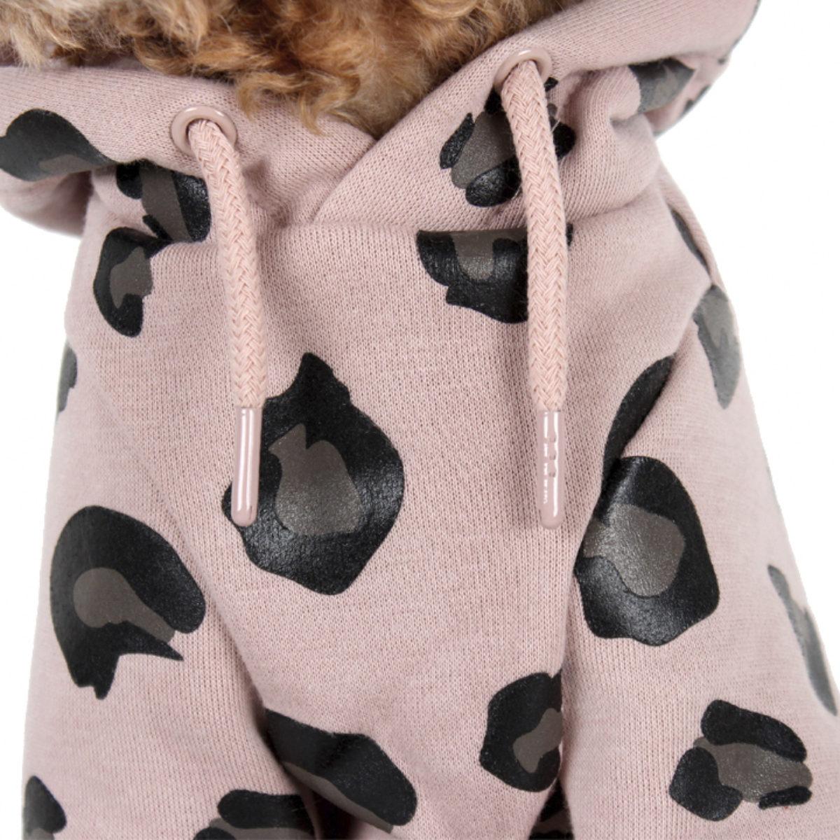 Hoodie Leopard Pink 4