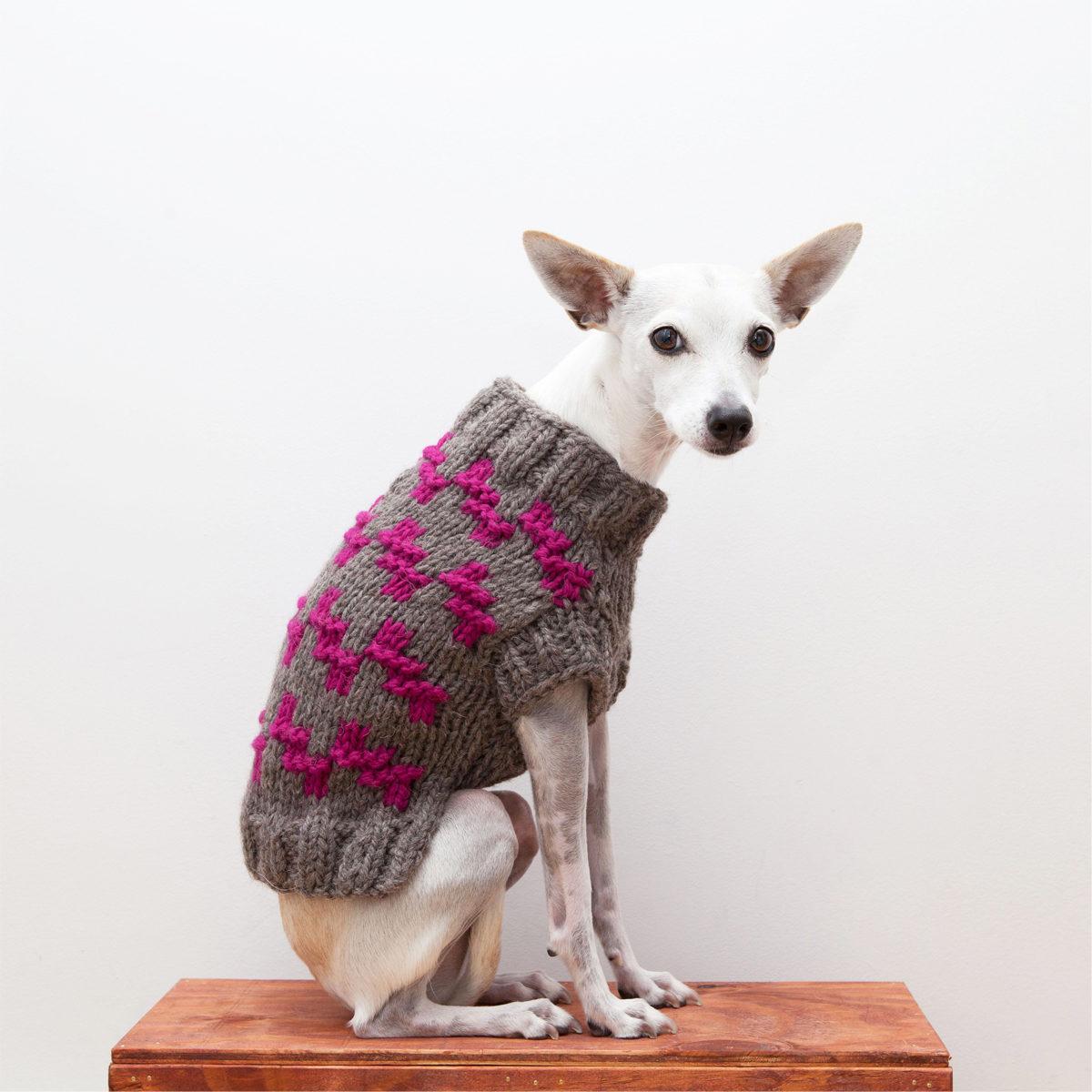 Sweater Grey Pink 2