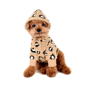 Leopard Dog Hoodie