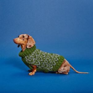 Textured turtleneck sweater